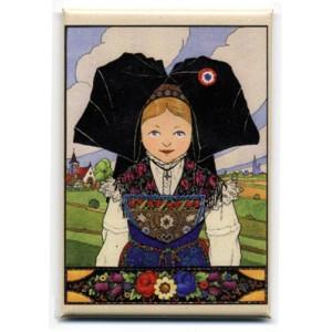 Magnet Hansi 'Belle Alsacienne'