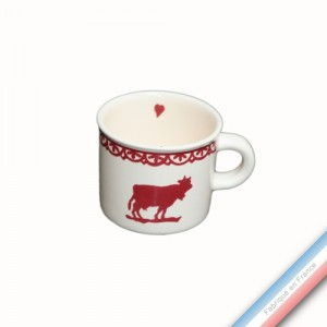 Collection MONTEE A L'ALPAGE - Mini mug - 0,21 L -  Lot de 4