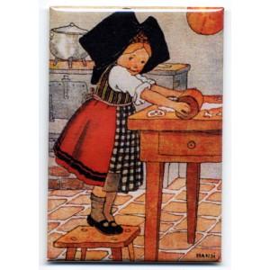 Magnet Hansi 'La Pâtissière'