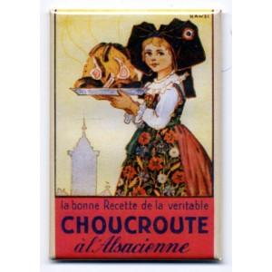 Magnet Hansi 'La Choucroute'