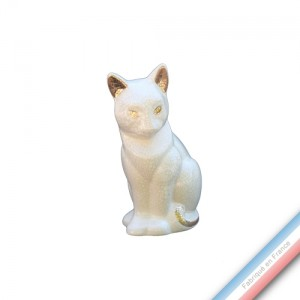 Collection IRRESISTIBLES - Chaton Ivoire - H 12,5 cm -  Lot de 1
