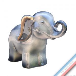Collection IRRESISTIBLES - Eléphant Gris profond - H 14 cm - L20 cm -  Lot de 1