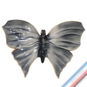 Collection IRRESISTIBLES - Grand Papillon Gris profond - L 33 - l 22 cm -  Lot de 1