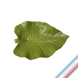 Collection SPA - Coupe philodendron Anis  - L 43 - l 30 cm -  Lot de 1