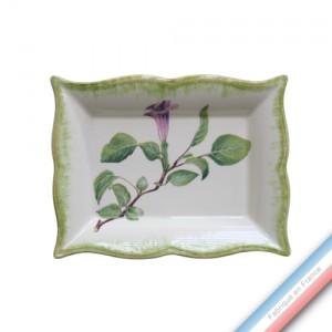 Collection ECLECTICA - Coffret vide poche rectangle Datura mauve - 21 x 17 x 3,6 cm -  Lot de 1