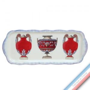 Collection ECLECTICA - Coffret plat cake Vase - 40 x 17 x 2,4 cm -  Lot de 1