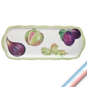 Collection ECLECTICA - Coffret plat cake fruits - 40 x 17 x 2,4 cm -  Lot de 1