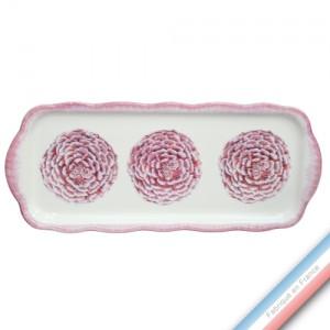 Collection ECLECTICA - Coffret plat cake Camelia - 40 x 17 x 2,4 cm -  Lot de 1