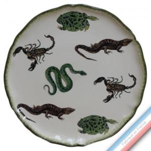 Collection ECLECTICA - Coffret plat tarte frissons - 36 x 36 x 3 cm -  Lot de 1