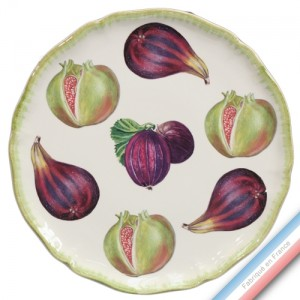 Collection ECLECTICA - Coffret plat tarte fruits - 36 x 36 x 3 cm -  Lot de 1