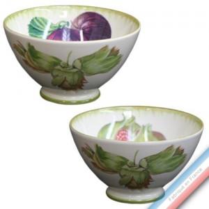 Collection ECLECTICA - Coffret 2 bols fruits - 16 x 16 x 11,5 cm -  Lot de 1