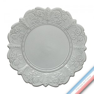 Collection BERAIN - Assiette plate berain - Diam  28 cm -  Lot de 4