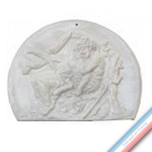 Collection CABINET CURIOSITE - Plaque Venus et jeune faune  - 31 x 24 cm -  Lot de 1