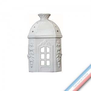 Collection CABINET CURIOSITE - Pavillon coupole  - 14 x 25 cm -  Lot de 1