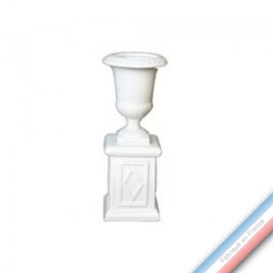 Collection CABINET CURIOSITE - Vase sur socle  - H. 17,5cm -  Lot de 1