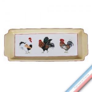 Collection COUR NORMANDE PAILLE - Plat cake - 38 x 15 cm -  Lot de 1