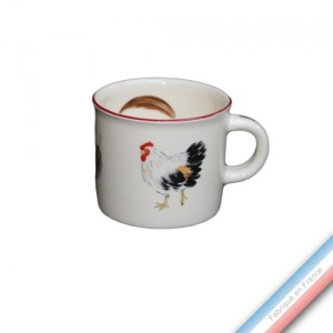 Collection BOCAGE - Mini mug - 0,21 L -  Lot de 4