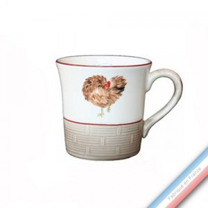 Collection BOCAGE - Mug cannes - 0,35 L -  Lot de 4