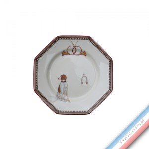 Collection CHANTILLY - Assiette pain - Diam  16.5 cm -  Lot de 4