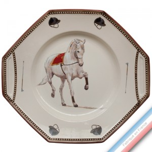 Collection CHANTILLY - Plat gâteau  - 29 x 26,5 cm -  Lot de 1