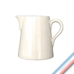Collection MAINTENON PATINE VANILLE - Pot conique 3 - H 16 cm - 1 L -  Lot de 1
