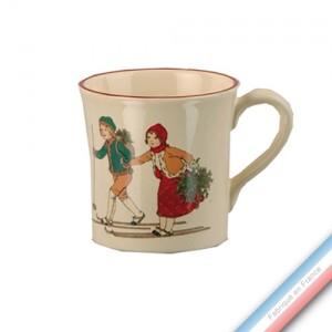 Collection JEUX D'HIVER - Mug - 0,35 L -  Lot de 4