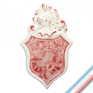 Collection MEGEVE - Blason - H 15 - l 9 cm -  Lot de 1