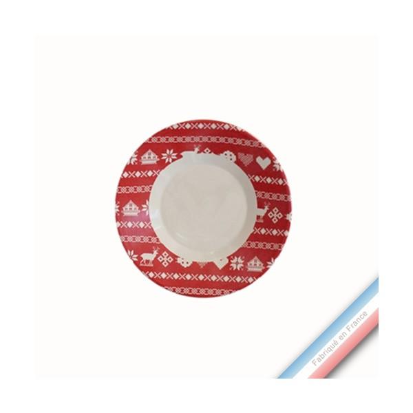 collection montagne rouge assiette pain diam 15 5 cm. Black Bedroom Furniture Sets. Home Design Ideas