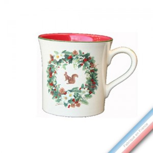 Collection ROSE DES NEIGES - Mug - 0,35 L -  Lot de 4