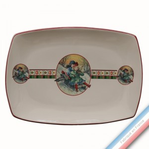 Collection SAINT PETERSBOURG - Plat rectangle - 37 x 27 cm -  Lot de 1