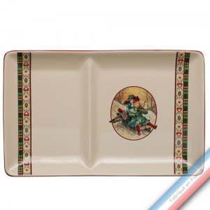 Collection SAINT PETERSBOURG - Assiette chaud/froid - 37 x 23 cm -  Lot de 1