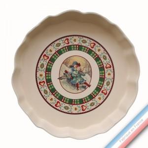 Collection SAINT PETERSBOURG - Moule à tarte - Diam  33 cm -  Lot de 1