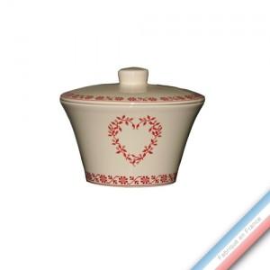 Collection TENDRE ROUGE - Sucrier - 0.28 L -  Lot de 1