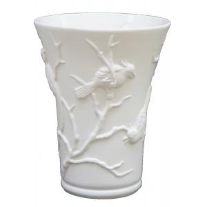 Collection POINT DE VUE ECLAIRE - Vase Cacatoes Letalle - H 27 cm - 2 L -  Lot de 1