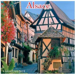 """Calendrier images """"Alsace"""" (30cm x 30cm)"""