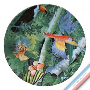 Collection JUNGLE - Assiette de présentation-Diam 35 cm- Lot de 1