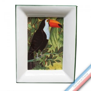 Collection JUNGLE - Vide poche rectangulaire gm - 19,5 x 15 cm -  Lot de 1