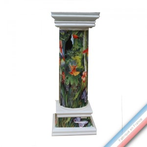 Collection JUNGLE - Colonne Corinthe - H 68 cm -  Lot de 1