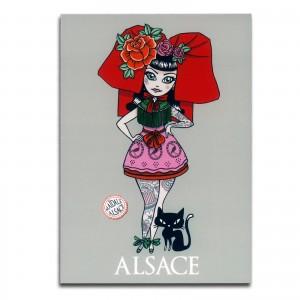 "Carte postale MAÏDALÄ - ""L'Audacieuse"""