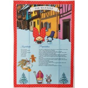 Torchon Les Mannele - Lovely Elsa