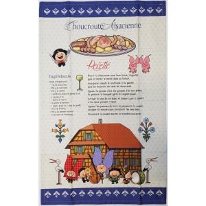 Torchon Choucroute Alsacienne - Lovely Elsa