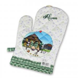 Un gant de cuisine Lovely Elsa - Vert