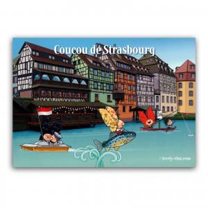 Carte postale Lovely Elsa - Coucou de Strasbourg