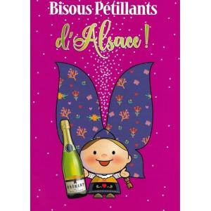 Carte de voeux Lovely Elsa - Bisous Pétillants