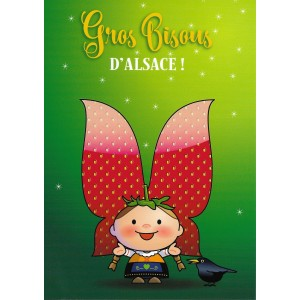 Carte de voeux Lovely Elsa - Gros Bisous