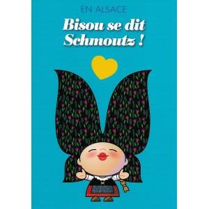 Carte de voeux Lovely Elsa - Schmoutz