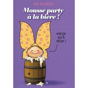 Carte de voeux Lovely Elsa - Mousse Party