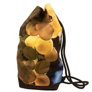 Sac marin 4 bouteilles collection vignes - décor 3