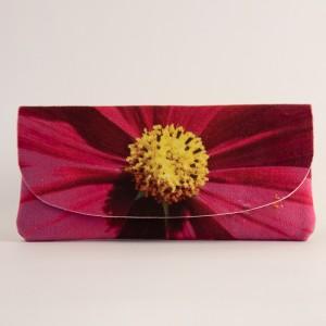 Etui à lunettes collection fleurs - Cosmo fuschia