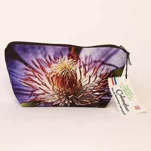 Trousse 3D collection fleurs - Clématite violette